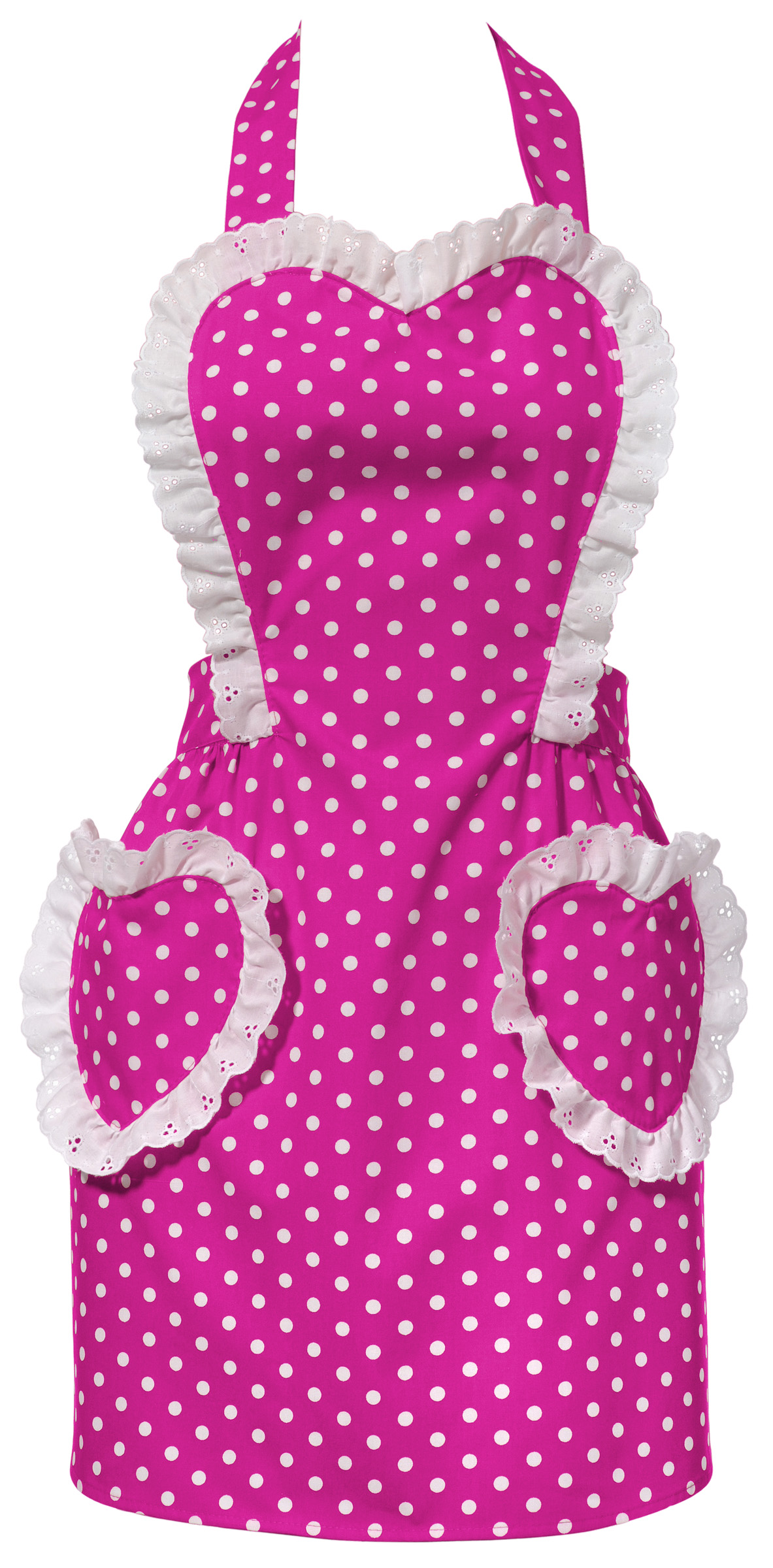 you are the winner of the pink sweetheart apron from carolyn's