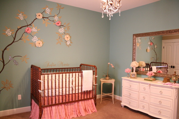 Most Useful Baby Girl Nursery Theme Ideas 588 x 392 · 94 kB · jpeg