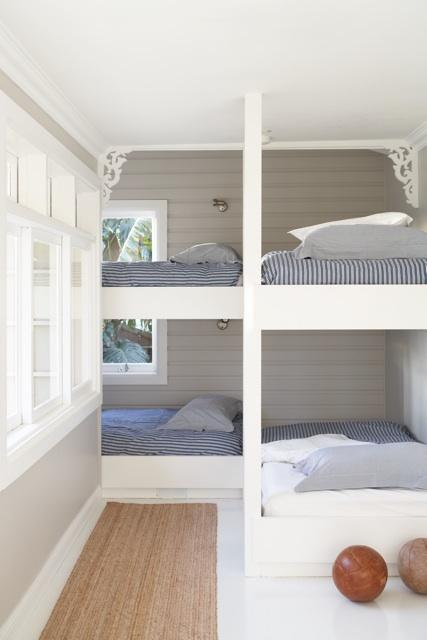 Bunk beds for vacation homes - Small space loft bed property ...