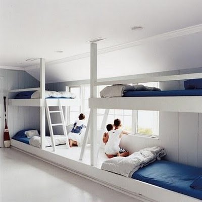 bunk beds for vacation homes. Black Bedroom Furniture Sets. Home Design Ideas