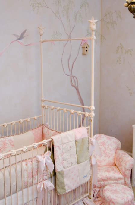 shabby chic love baby girl nursery. Black Bedroom Furniture Sets. Home Design Ideas