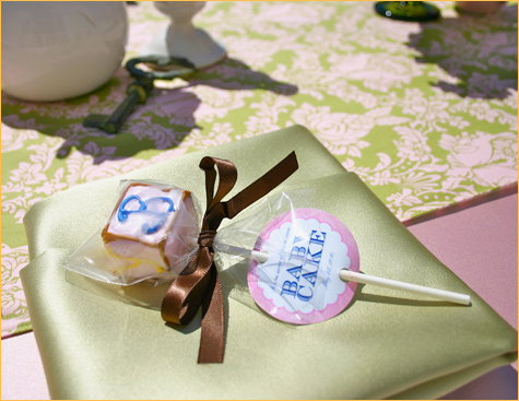 baby shower favors cake goodness