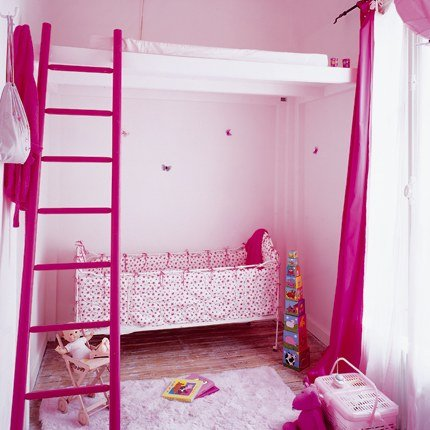 Hot Pink Playroom for Denise Richards